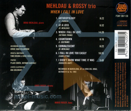 When I Fall in Love by Mehldau and Rossi Trio