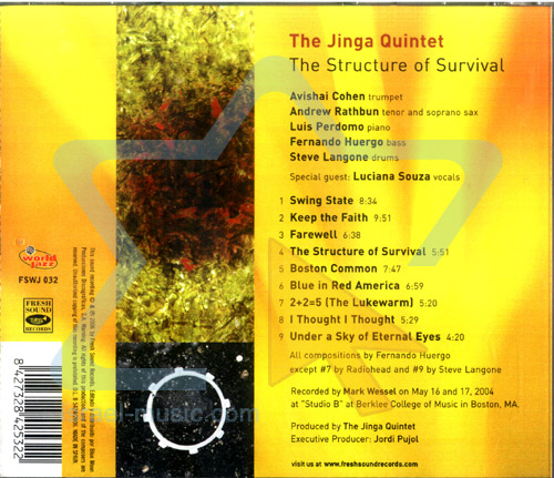 The Structure of Survival by The Jinga Quintet