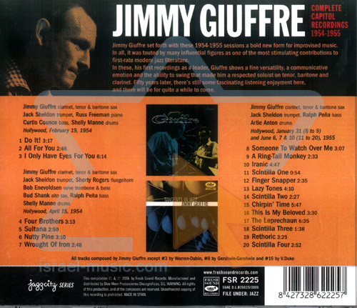 New Forms in Jazz by Jimmy Giuffre