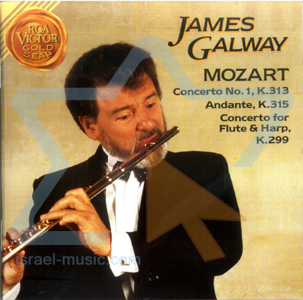 Mozart - Concerto for Flute & Harp by James Galway