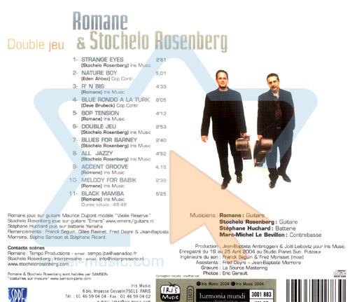 Double Jeu by Romane