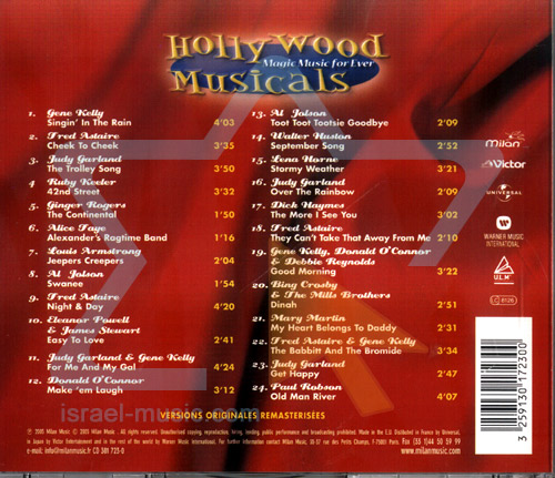 Hollywood Musicals by Various
