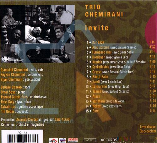 Invite Par Trio Chemirani
