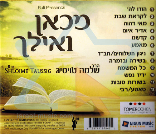 From Now And On by Reb Shloime Taussig