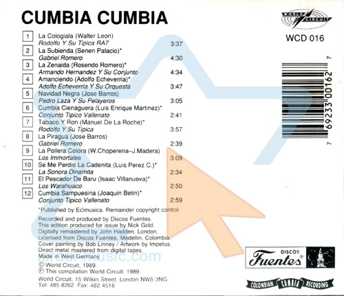 Cumbia Cumbia by Various