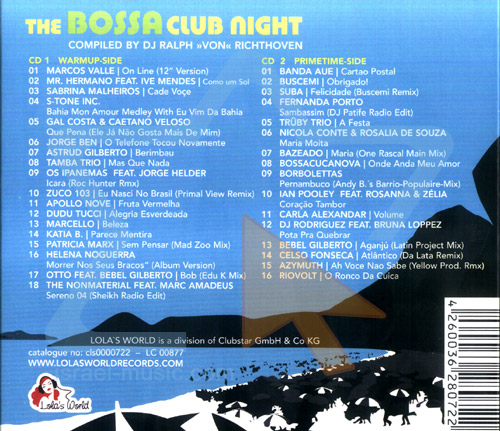The Bossa Club Night by Various