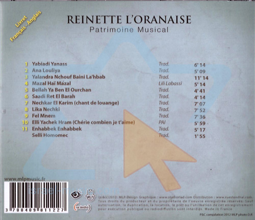 Patrimoine Musical by Reinette L'oranaise