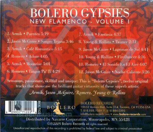 Bolero Gypsies -Part 1 by Various