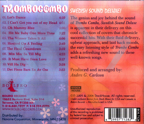 Swedish Sound Deluxe by Trombo Combo