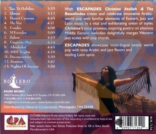 Escapades by Christine Atallah & the Bassalindos