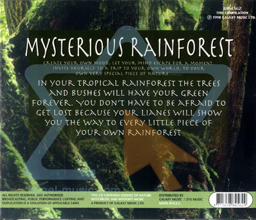 The Sound of Nature - Mysterious Rainforest - Israel Music