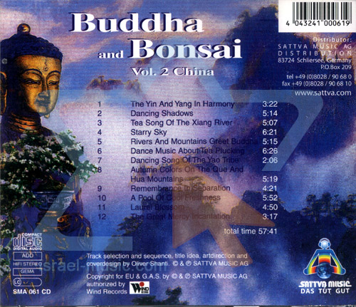 Buddha and Bonsai Vol. 2 - China Par Oliver Shanti