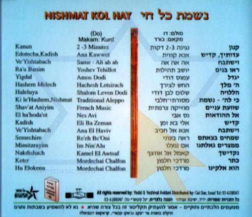 Nishmat Kol Hay Vol. 8 by Cantor Yehezkel Zion