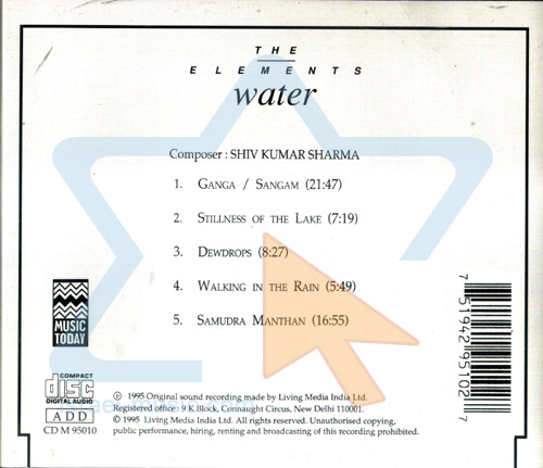 The Elements - Water by Shiv Kumar Sharma