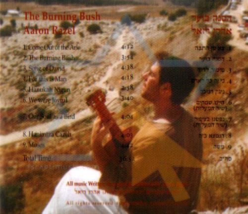 The Burning Bush by Aharon Razel