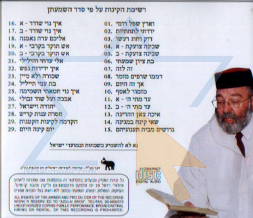 Laments for Tet Be'av - Part 3 by Rabbi Meir Elazar Atia
