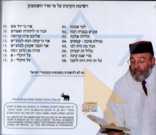 Laments for Tet Be'av - Part 2 by Rabbi Meir Elazar Atia