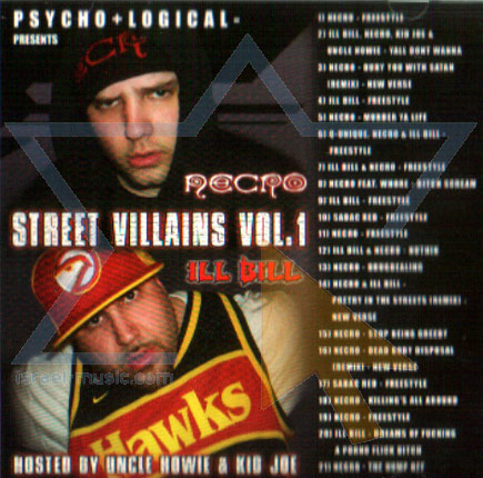 Psycho+Logical - Street Villains Vol.1 by Necro & Ill Bill