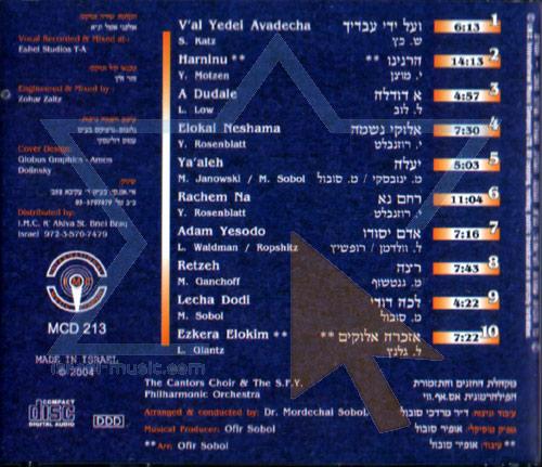 Ezkera Elokim by Cantor Yaakov Motzen