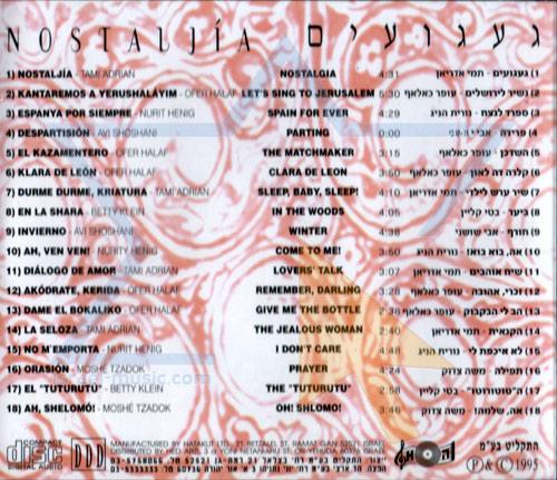 Nostaljia by Various