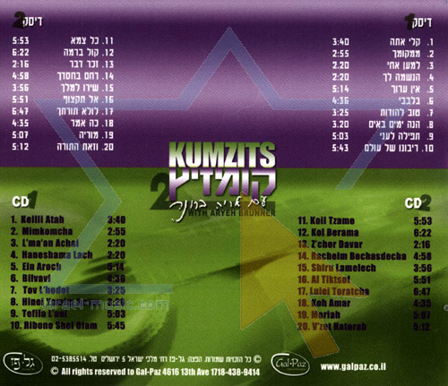 Kumzits 2 - With Aryeh Brunner by Aryeh Brunner