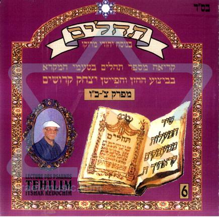 Tehilim - Part 6 by Cantor Yitzhak Kedoshim