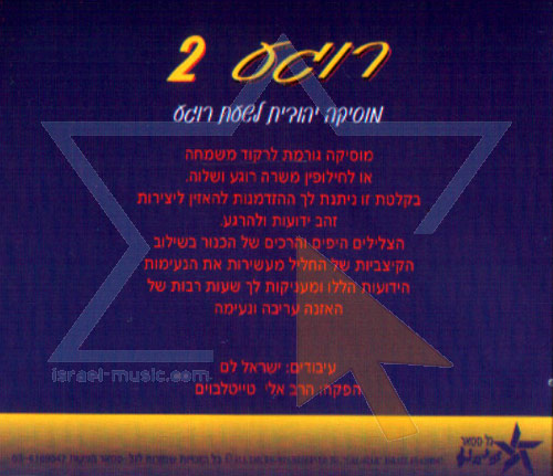 Jewish Music to Relax By 2 by Yisroel Lamm