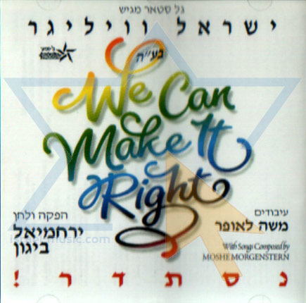We Can Make It Right - Yisroel (Srully) Williger
