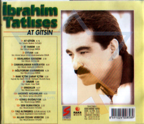 Selected Turkish Songs - Vol. 13 by Ibrahim Tatlises
