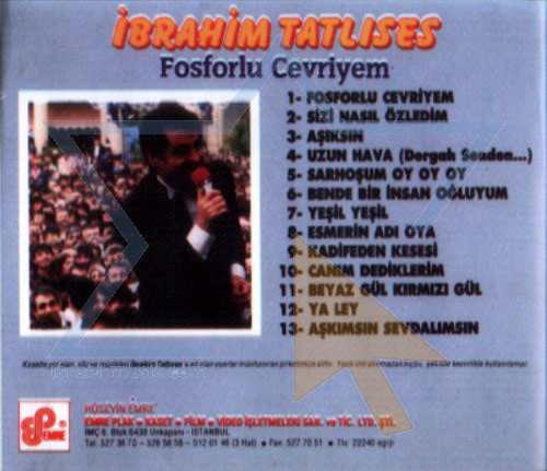 Selected Turkish Songs - Vol. 9 by Ibrahim Tatlises