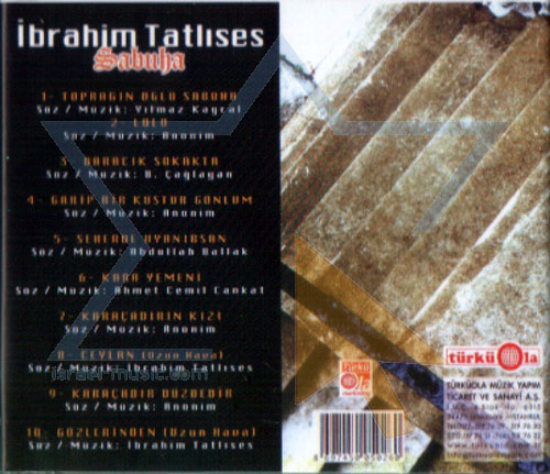 Selected Turkish Songs - Vol. 11 Par Ibrahim Tatlises