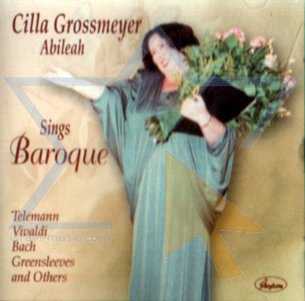 Sings Baroque by Cilla Grossmeyer
