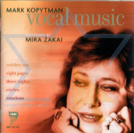 Vocal Music Par Mira Zakai