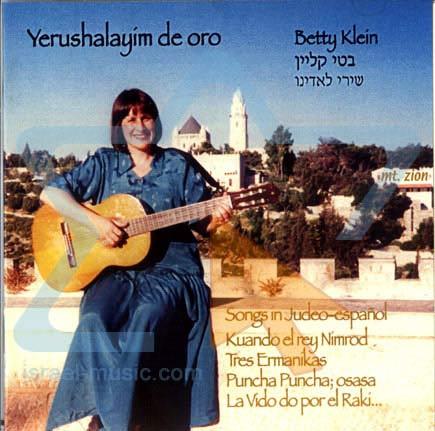 Yerushalayim de Oro by Betty Klein