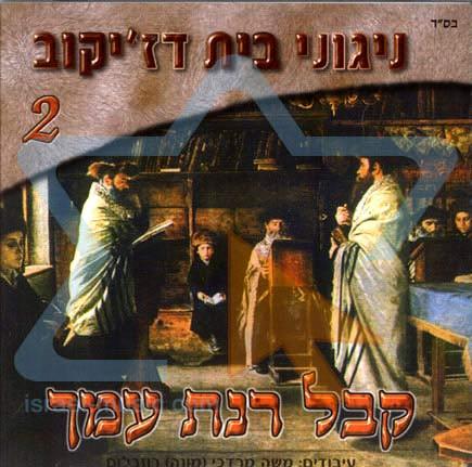 Niguney Beit Djikov Vol. 2 by Moshe Mordechai Rosenblum