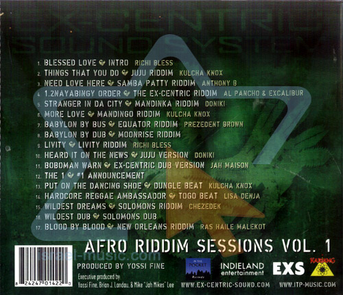Afro Riddim Sessions - Vol. 1 by Ex-Centric Sound System