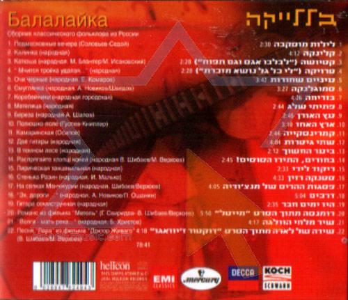 Balalyka by Various