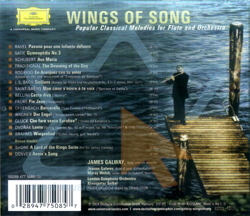 Wings of Song by James Galway
