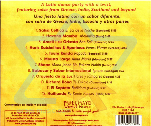 Salsa Around the World by Various