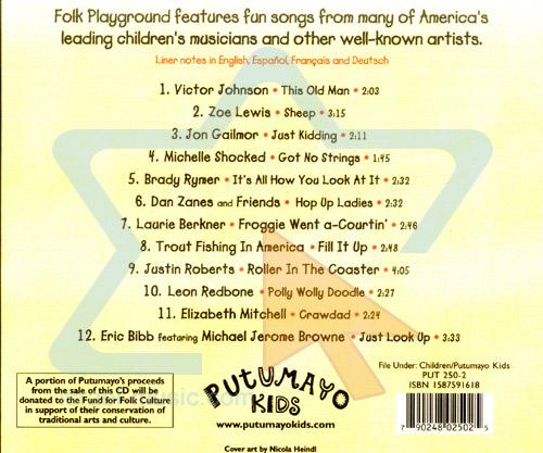 Folk Playground by Various