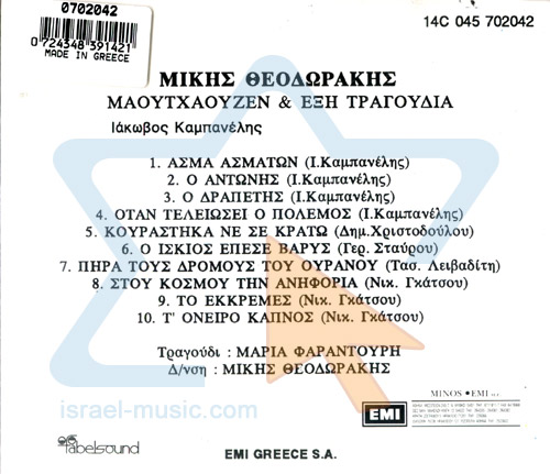 The Ballad of Mauthausen by Mikis Theodorakis