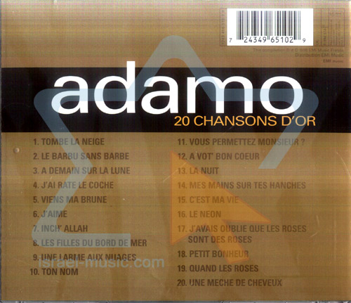20 Chansons Dor by Salvatore Adamo