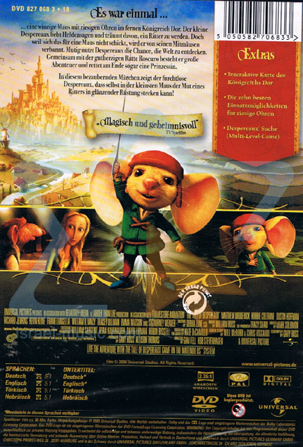 The Tale of Despereaux by Various