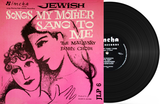 Jewish Songs My Mother Sang To Me Par Cantor Samuel Malavsky
