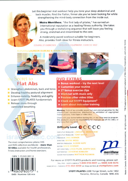 Stott Pilates - The Secret to Flat Abs by Moira Merrithew
