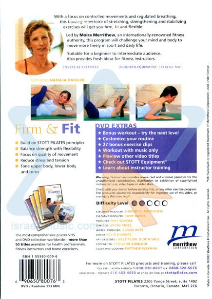 Stott Pilates - Firm & Fit by Moira Merrithew