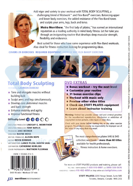 Stott Pilates - Total Body Sculpting by Moira Merrithew