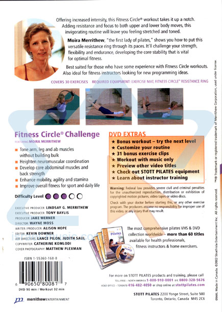 Stott Pilates - Fitness Circle Challenge by Moira Merrithew