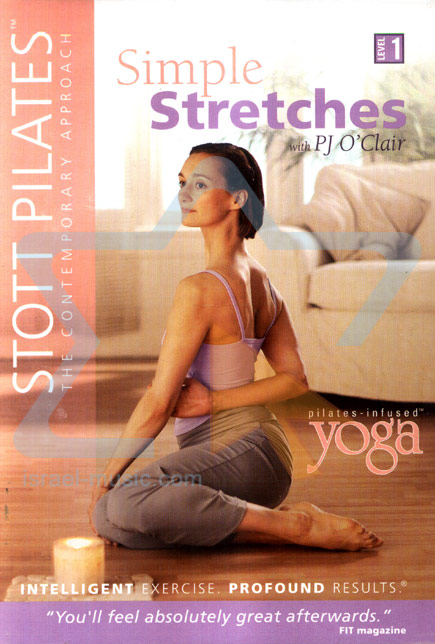 Stott Pilates - Simple Stretches by PJ O'Clair