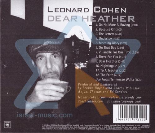 Dear Heather by Leonard Cohen